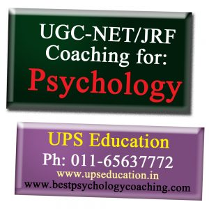 NET/JRF Psychology Coaching