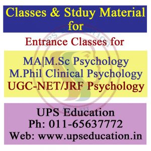 Best Psychology Coaching Center in India