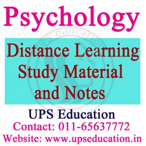 Psychology Entrance Exam Study Material