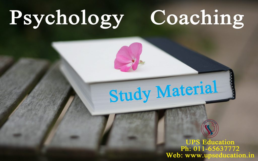 No.1 Psychology Coaching in India