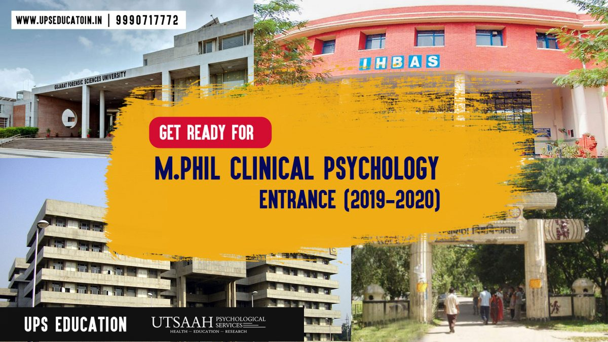 M.Phil Clinical Psychology Entrance Coaching