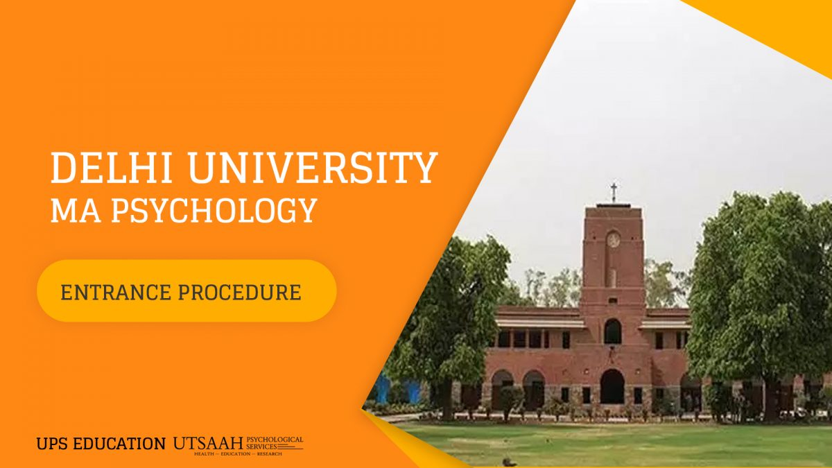 MA Psychology Admission at Delhi University (Full Details)