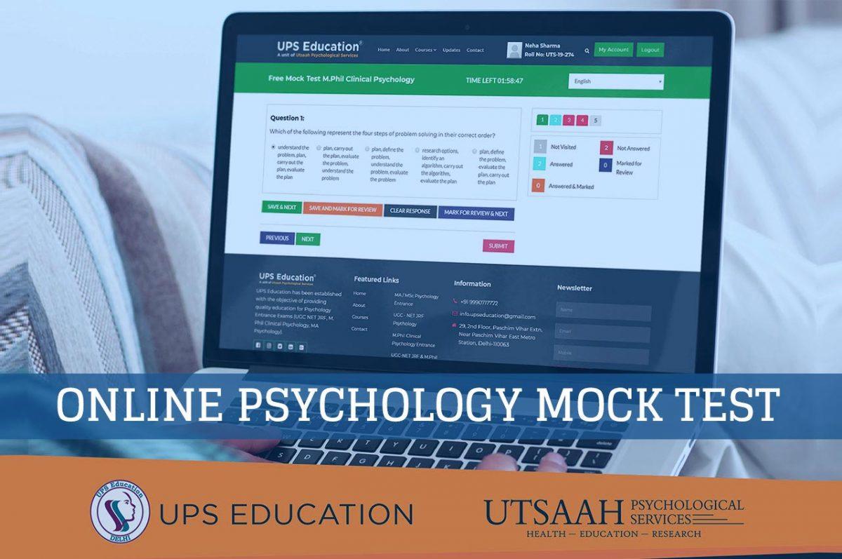 Online Psychology Mock Tests