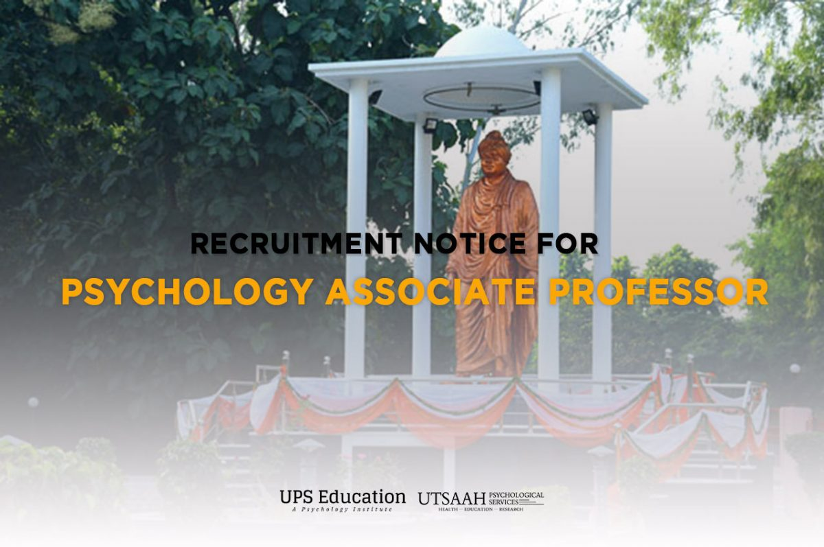 Psychology Associate Professor Vacancies out in Chaudhary Charan Singh University