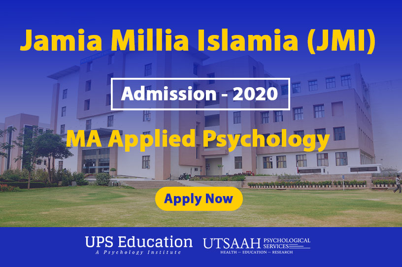 jmi ma applied psychology admission 2020