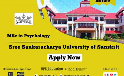 Sree Sankarachary University of Sanskrit, Kalady MSC in Psychology