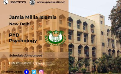 JMI PhD in Psychology admission