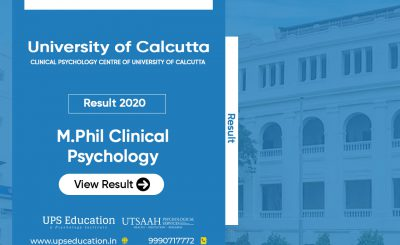University of Calcutta M.Phil Clinical Psychology Result 2020