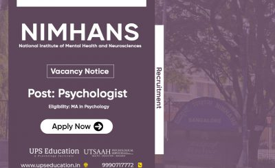 Psychologist Vacancy